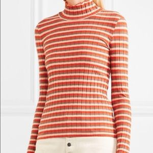 Madewell Striped Colorful Turtleneck